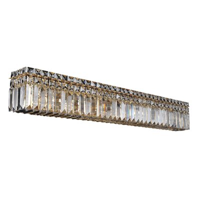 Vanita 8-Light Wall Bracket Finish: 18K Gold