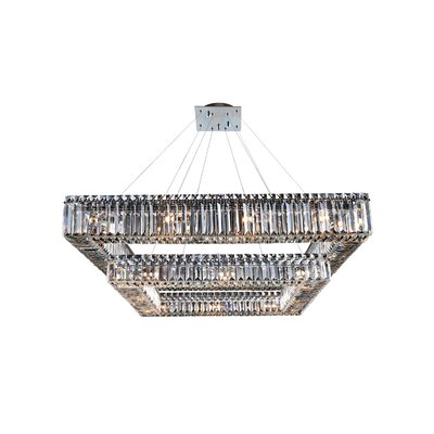 Quadro 28-Light Crystal Pendant