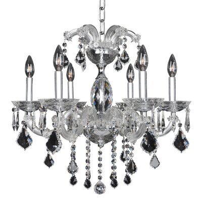 Giordano 6-Light Crystal Chandelier