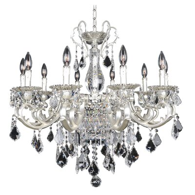 Rafael 13-Light Crystal Chandelier Crystal: Firenze Clear