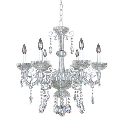 La Valle 6-Light Crystal Chandelier