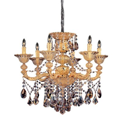 Mendelsshon 6-Light Crystal Chandelier