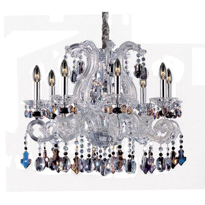 Lorraine 8-Light Crystal Chandelier
