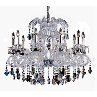 Lorraine 10-Light Crystal Chandelier