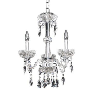 La Valle 3-Light Crystal Chandelier