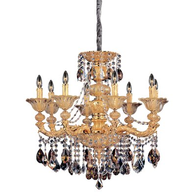 Mendelsshon 8-Light Crystal Chandelier