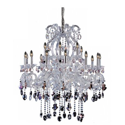 Lorraine 18-Light Crystal Chandelier