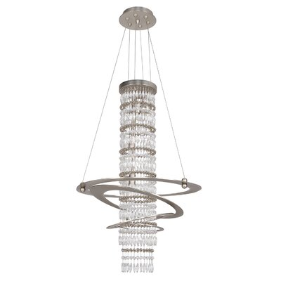 Giovanni 3-Light Globe Pendant Crystal: Firenze Clear