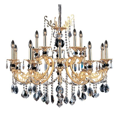 Bellini 15-Light Crystal Chandelier