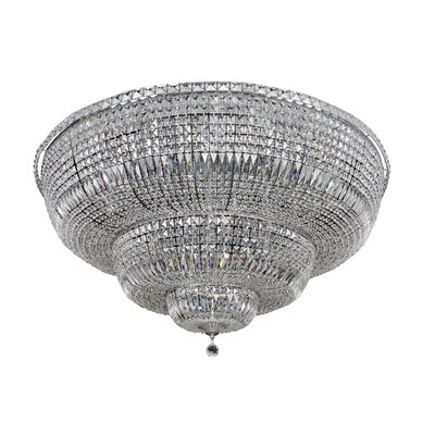 Betti 30-Light Semi-Flush Mount