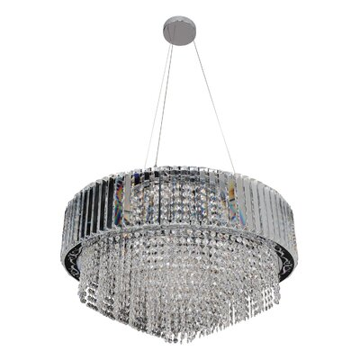 Adaliz 16-Light Crystal Chandelier Crystal: Firenze Clear