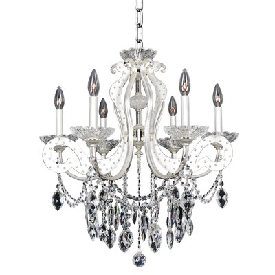 Titian 6-Light Crystal Chandelier