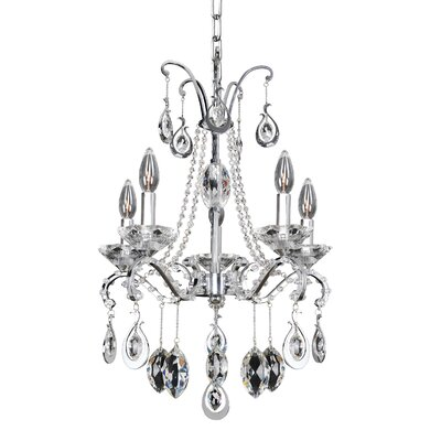 Torrelli 5-Light Crystal Chandelier Crystal: Firenze Clear