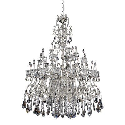 Haydn 41-Light Crystal Chandelier Crystal: Firenze Clear