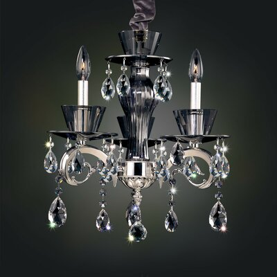 Locatelli 3-Light Crystal Chandelier Crystal: Swarovski Elements Clear