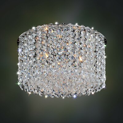 Milieu Metro 3-Light Semi-Flush Mount