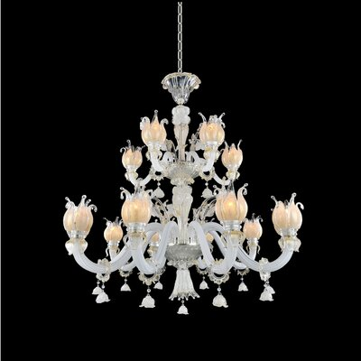 Artemisia 15-Light Crystal Chandelier
