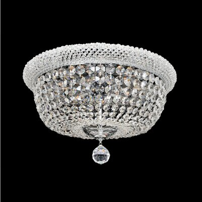 Napoli 12-Light Flush Mount