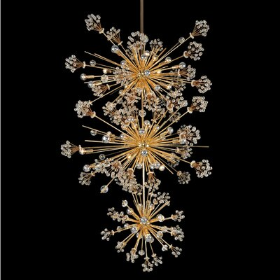 Constellation 50-Light Sputnik Chandelier Finish: Gold