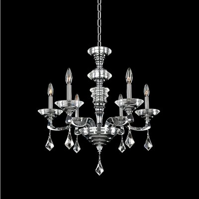 Cosimo 6-Light Candle-Style Chandelier