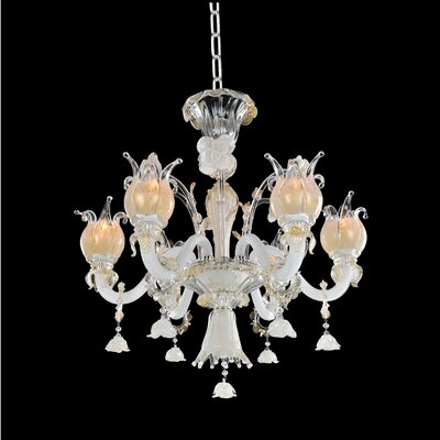 Artemisia 6-Light Crystal Chandelier