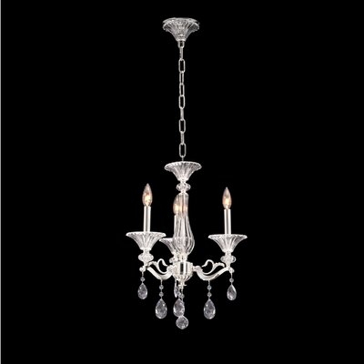Vasari 3-Light Crystal Chandelier