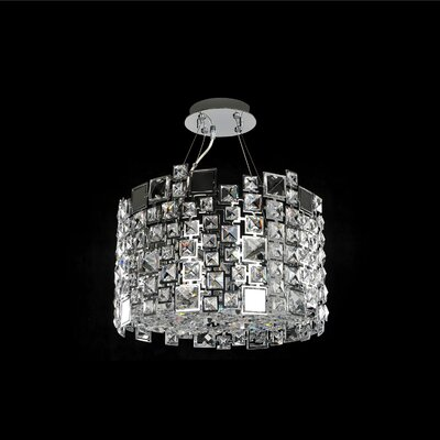 Dolo 4-Light Semi-Flush Mount