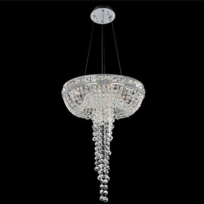 Cascata 4-Light Crystal Chandelier