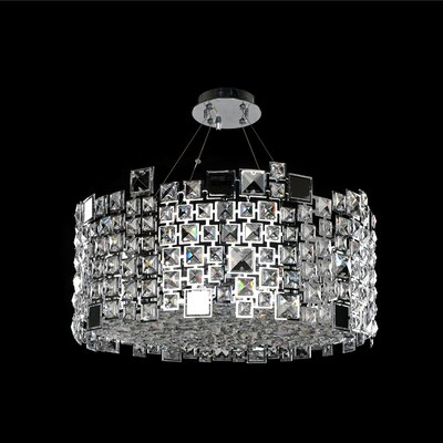 Dolo 8-Light Semi-Flush Mount