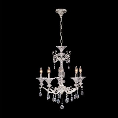 Vasari 5-Light Candle-Style Chandelier