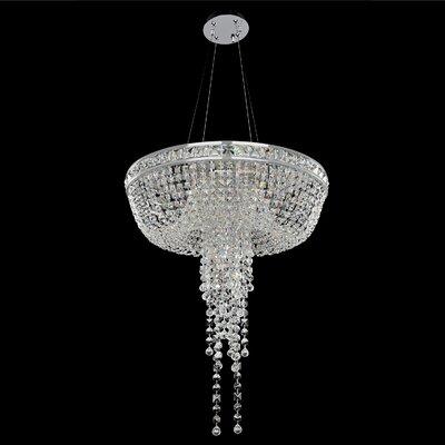 Cascata 6-Light Crystal Chandelier