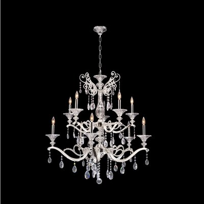 Vasari 10-Light Candle-Style Chandelier