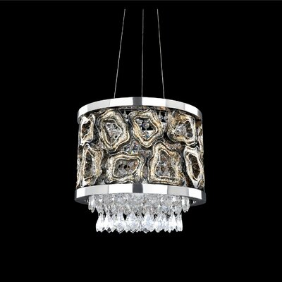 Carravagio 2-Light Drum Chandelier