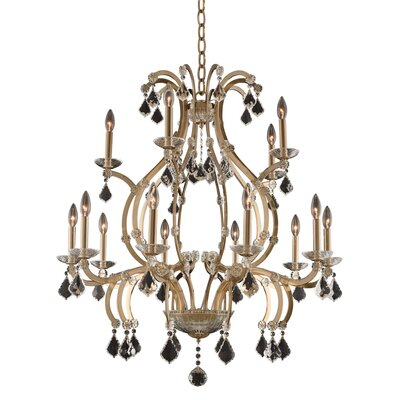Duchess 2 Tier 15-Light Candle-Style Chandelier