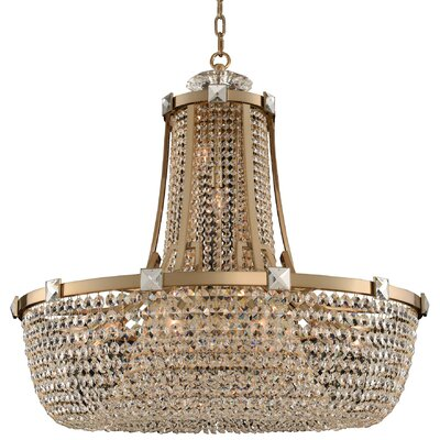 Impero 15-Light Crystal Pendant