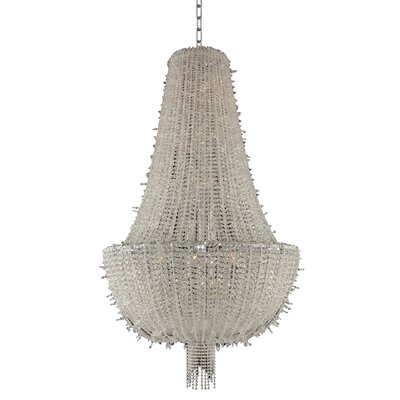 Cielo 20-Light Crystal Pendant
