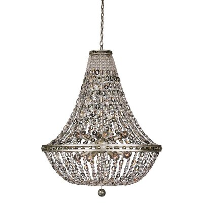 Lucia 12-Light Crystal Pendant