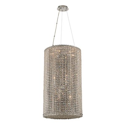 Torre 12-Light Crystal Pendant