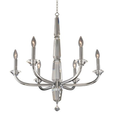 Palermo 6-Light Candle-Style Chandelier