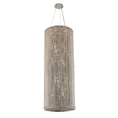 Torre 18-Light Crystal Pendant