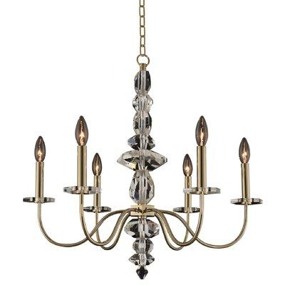 Bolivar 6-Light Candle-Style Chandelier