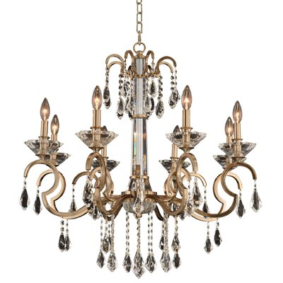 Valencia 8-Light Candle-Style Chandelier