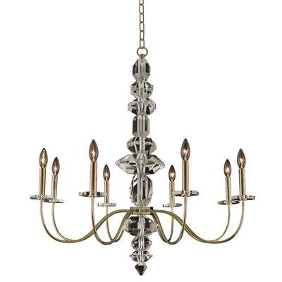 Bolivar 8-Light Candle-Style Chandelier