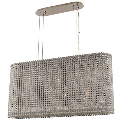Torre 11-Light Crystal Pendant