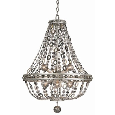 Lucia 6-Light Crystal Pendant