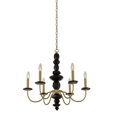 Piedra 6-Light Candle-Style Chandelier