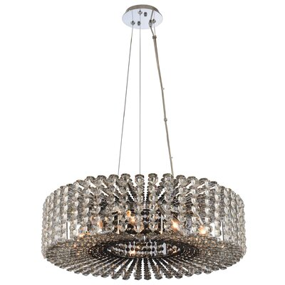 Anello 9-Light Crystal Pendant