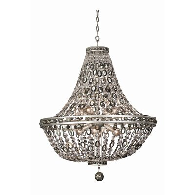 Lucia 8-Light Crystal Pendant