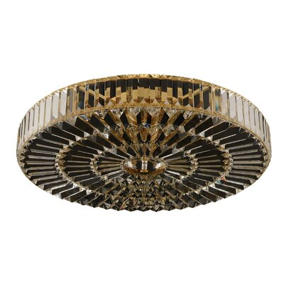 Valentin 6-Light Flush Mount Finish: Chrome