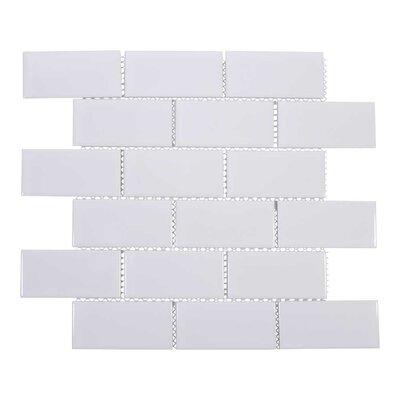 2 x 4 Porcelain Subway Tile in White